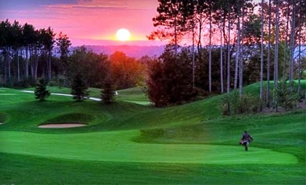 Settlers' Ghost Golf Club: Round of Golf for Two and a Power Cart Monday Through Thursday - Settlers' Ghost Golf Club in