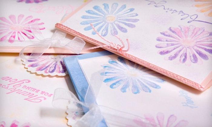 Stamp Fanci - Bellevue: $15 for $30 Worth of Rubber Stamps, Paper, and Stamp Supplies at Stamp Fanci