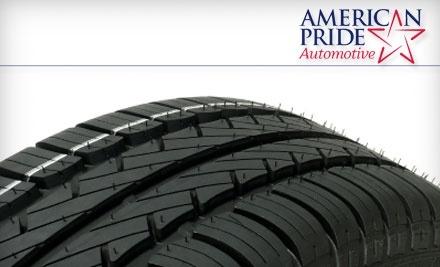 $50 Groupon to American Pride Automotive - American Pride Automotive in Yorktown