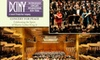 Concert for Peace - New York City: $50 for One Ticket to the Concert for Peace at the Lincoln Center ($100 Value). Buy Here for Prime Orchestra Seat to the January 18 Performance at 7:30 p.m. See Below for Additional Seating Options.