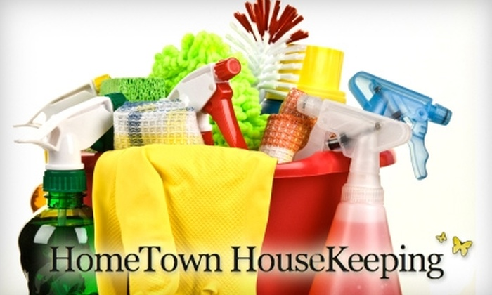 HomeTown HouseKeeping - Portland, ME: $35 for Two Hours of House Cleaning from HomeTown HouseKeeping (Up to $70 Value)