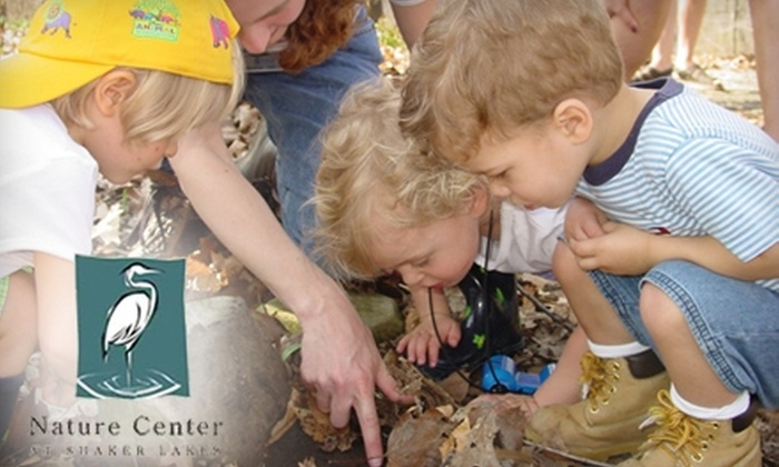 Nature Center at Shaker Lakes - Shaker Heights: $32 for Household Membership to the Nature Center at Shaker Lakes ($65 Value)