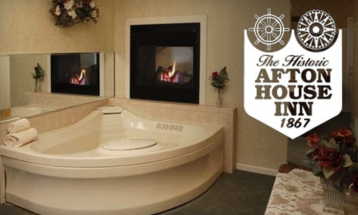 Afton House Inn - Afton: $104 for a One-Night Stay in a Premium Room with Champagne and Strawberries  at the Afton House Inn Plus a $10 Ski Voucher at the Afton Alps ($207 Value)
