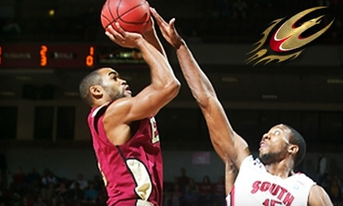 Elon University Athletics - Multiple Locations: One Ticket to Elon University Athletics Men's Basketball. Choose From Games vs. NC State, Georgia Southern, College of Charleston or UNC–Greensboro