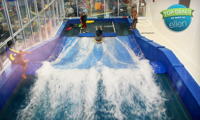 Surf Style - Clearwater: One or Three Half-Hour Indoor-Surfing Sessions at Surf Style in Clearwater Beach (Up to 58% Off)