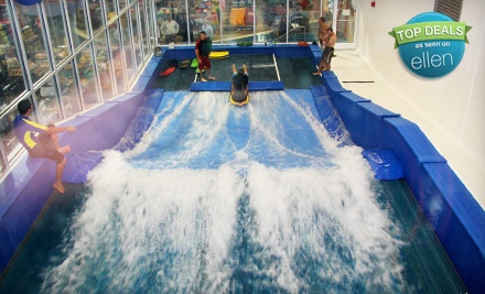 One 30-Minute Indoor-Surfing Session on FlowRider (a $21.40 value) - Surf Style in Clearwater Beach
