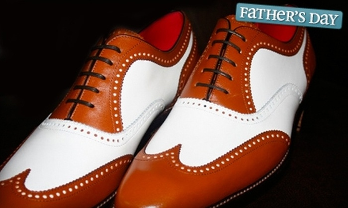 Mark Austin Bespoke Couture - McNair: $395 for Pair of Custom-Made Men's Dress Shoes ($895.95 Value)