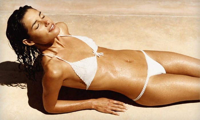 Coco Tan - Irving: One or Two Custom Airbrush Tans at Coco Tan (Up to 70% Off)