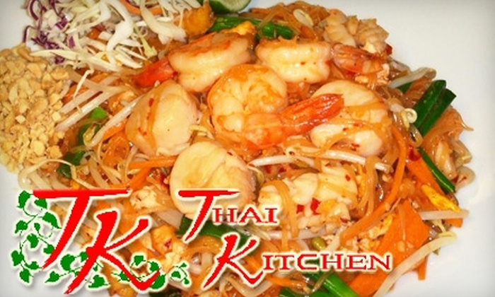 TK Thai Kitchen - Miami: $6 for $12 of Traditional Thai Fare and Drinks at TK Thai Kitchen