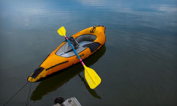 Charleston Outdoor Adventures - Folly Beach: $17 for a Four-Hour Single Kayak Rental from Charleston Outdoor Adventures ($35 Value)