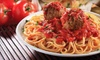 Up to 53% Off Italian Meal at Villa Pizza