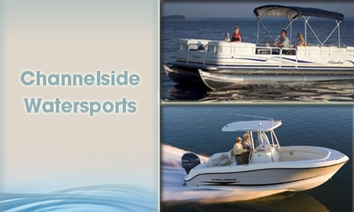 Channelside Watersports  - Downtown: $150 for Four-Hour Boat Rental with Channelside Watersports