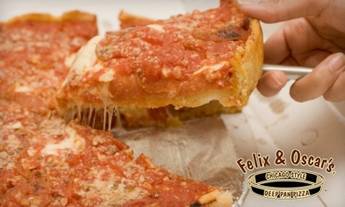 Felix and Oscar's Restaurant and Pub - Multiple Locations: $15 for $30 Worth of Pasta, Pizza, and Pours at Felix and Oscar's Restaurant and Pub