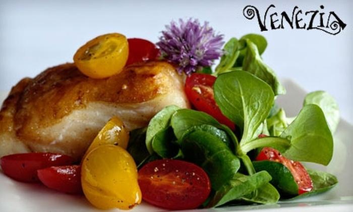 Venezia - North Berkeley: $15 for $30 Worth of Italian Cuisine and Drinks at Venezia in Berkeley