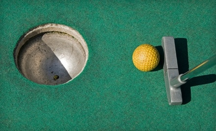 Golf NYC: 2 Miniature-Golf Admissions and 2 Sets of Large Sodas, Fries, and Hamburgers or Hot Dogs - Golf NYC in Flushing