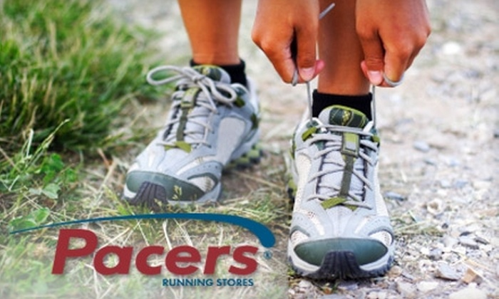 Pacers - Washington DC: $20 for $40 Worth of Running Apparel and Shoes at Pacers