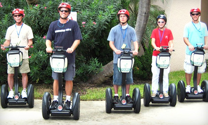 Segway Experience Treasure Coast - Hutchinson Island South: $34 for Two-Hour Oceanfront Tour from Segway Experience Treasure Coast in Jensen Beach ($69 Value)