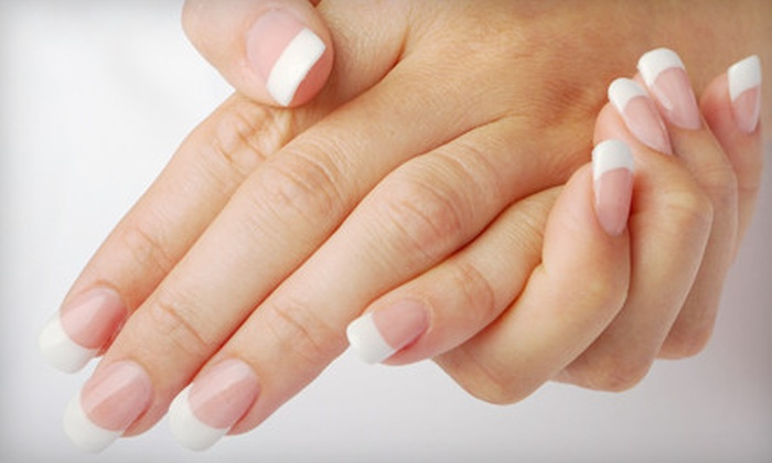 Masters Salon - Granger: Nail Packages or Spa Facial at Masters Salon (Up to 54% Off). Four Options Available.