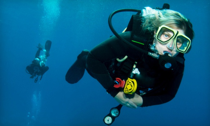 Atlantic Edge Dive Center - Multiple Locations: $30 for a One-Hour Try-It Scuba Lesson at Atlantic Edge Dive Center ($60 Value)