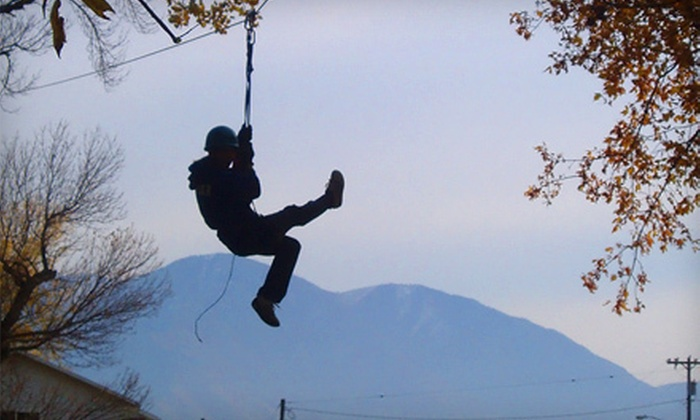CLAS Ropes Course - Provo: Six-Hour Couples Retreat with Canoeing, Ropes Course, and Dinner at CLAS Ropes Course in Provo (Up to $250 Value)