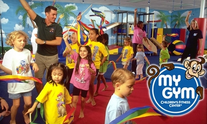 My Gym Children's Fitness Center - Multiple Locations: $40 for One Month of Classes and One-Time Membership Fee at My Gym Children's Fitness Center