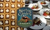 Spring Garden Bakery and CoffeeHouse - Brice Street Area: $5 for $12 Worth of Fresh Baked Goods and Coffee at Spring Garden Bakery and CoffeeHouse