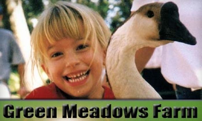 Green Meadows Petting Farm - Kissimmee: $10 for One Admission to Green Meadows Petting Farm