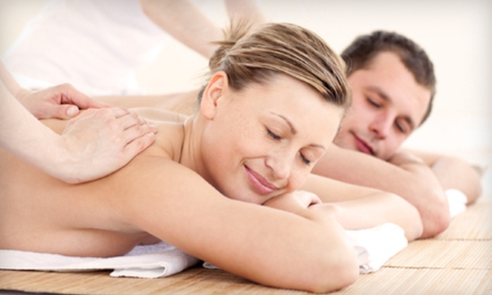 Indulgence Spa - Owasso: $59 for a Couples Swedish Massage with Wine and Chocolates at Indulgence Spa ($125 Value)