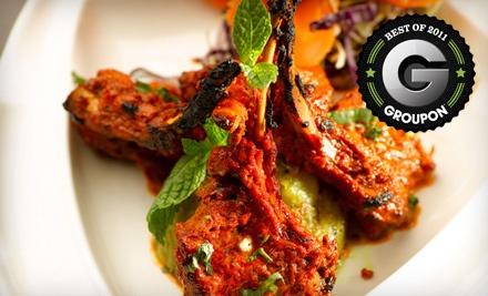 $25 Groupon for Lunch - Guru Restaurant & Bar in Edmonton