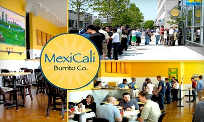 MexiCali Burrito - Kendall Square: $5 for $10 Worth of Fresh Mexican Fare at MexiCali Burrito Co.