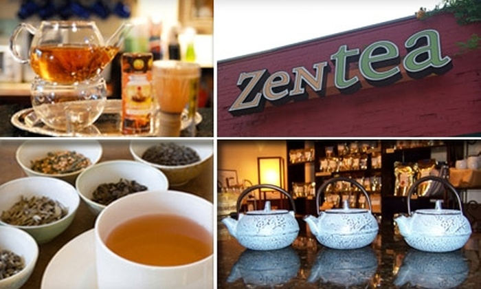 ZenTea - Chamblee: $7 for $15 Worth of Loose-Leaf Teas, Tea Flights, Tastings, and More at ZenTea