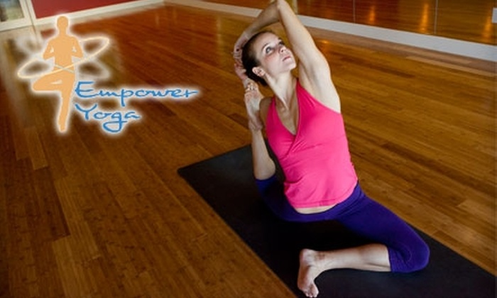 Empower Yoga - Old West Austin: $79 for One Month of Unlimited Yoga at Empower Yoga