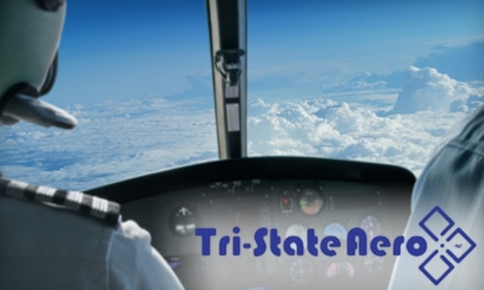 Tri State Aero - Evansville: $40 for a One-Hour Introductory Flight Lesson from Tri-State Aero ($99 Value)