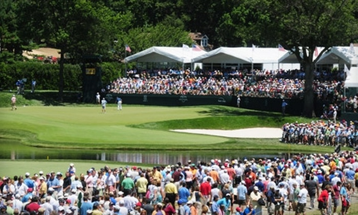 AT&T National - Newton Square: Admission to the AT&T National at the Aronimink Golf Club in Newton Square. Three Options Available.