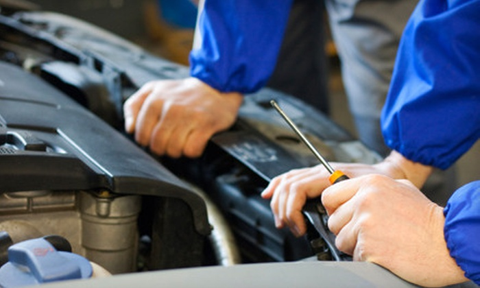 Soquel Collision Center - Soquel: Standard or Synthetic Oil Change, a Tire Rotation, and a 21-Point Inspection at Soquel Collision Center (Up to 56% Off)