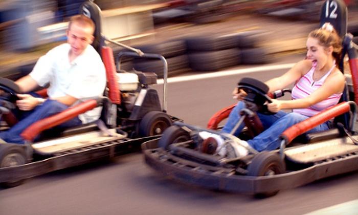 Speedworld Indoor Kart Track - St. James Industrial: $10 for Two Sprint-Kart Races at Speedworld Indoor Kart Track ($20 Value)