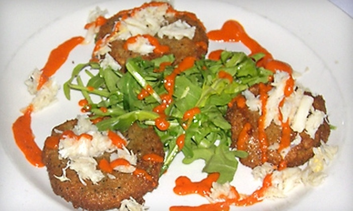 Dionysus Restaurant and Lounge - Mid-Town Belvedere: $12 for $25 Worth of Mediterranean-Inspired Fare and Drinks at Dionysus Restaurant and Lounge