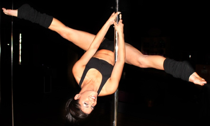 PoleFit Carolinas - Huntersville: 5 or 10 Pole-Dancing Classes, 8 Zumba Classes, or Pole Party at PoleFit Carolinas in Huntersville (Up to 68% Off)