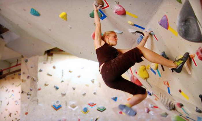Rock City Climbing - Anaheim Hills: $40 for a Two-Month Rock-Climbing Package at Rock City Climbing in Anaheim Hills (Up to $425 Value)