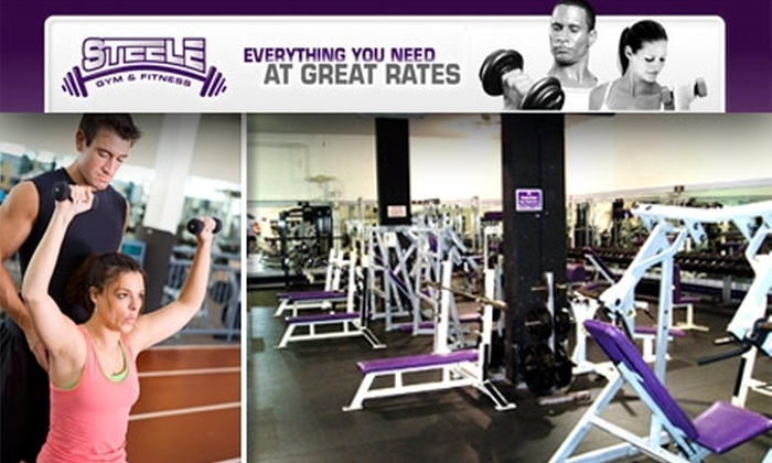 Steele Gym & Fitness - Jefferson Highlands: $20 for a One-Month Membership at Steele Gym & Fitness