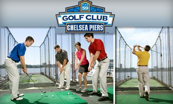 The Golf Club at Chelsea Piers - Ludlow: $35 for a Golf 101 Lesson and $20 Ball Card at The Golf Club at Chelsea Piers ($80 Value)