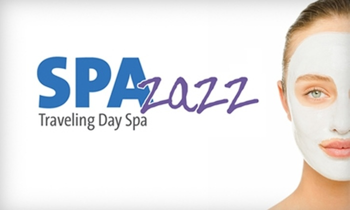 SPAzazz - Omaha: $49 for In-Home or Office Spa Package for Up to 20 People from SPAzazz Traveling Day Spa ($125 value)