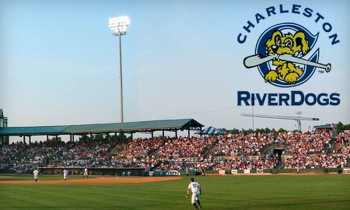 Charleston RiverDogs - Westside: $10 for a Ticket to any August, Non-Friday Home Game, Plus a RiverDogs Replica Hat, from Charleston RiverDogs Baseball ($26 Value)
