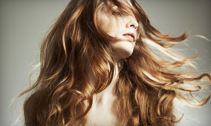 The Lather Lounge - Chicago: $39 for Hair and Spa Treatments at The Lather Lounge in Munster (Up to $100 Value)