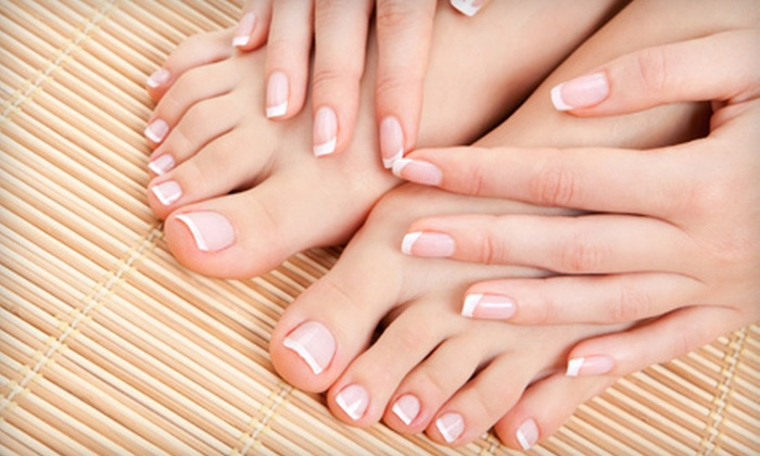 A Swedish Touch - Northwest Virginia Beach: Spa Manicure and Pedicure or Full Set of Acrylic Nails at A Swedish Touch in Virginia Beach (Up to 62% Off)