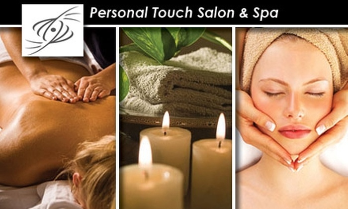 Personal Touch Salon & Spa - Castle Hills: $60 for One of Four Services at Personal Touch Salon & Spa