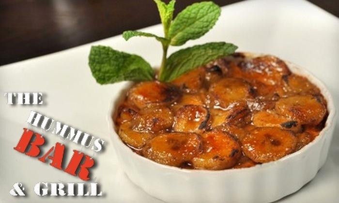 Hummus Bar & Grill - Tarzana: $15 for $30 Worth of Israeli Cuisine and Drinks at Hummus Bar & Grill