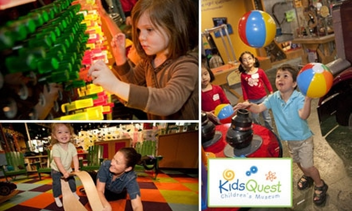 KidsQuest Children's Museum - Factoria: $15 for Four General-Admission Tickets to KidsQuest Children's Museum ($30 Value)
