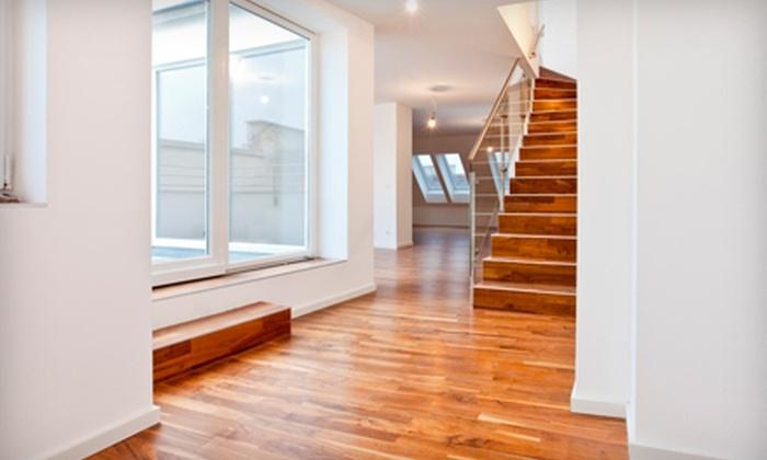 International Flooring - Fulshear-Simonton: $259 for Refinishing Services for 150 Square Feet of Hardwood Flooring from International Flooring ($525 Value)