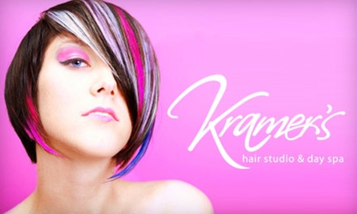 Kramers Hair Studio and Day Spa - Hillsdale: $20 for a Haircut and Style (Up to $44 Value) or $35 for Full Highlights (Up to $77 Value) at Kramer's Hair Studio and Day Spa